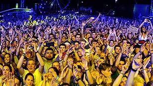 Publikum beim Frequency Festival 2018