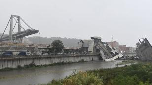 Autobahnbrücke Genua