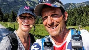 Tom Walek mit Monika Gruber