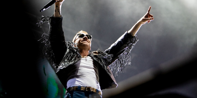 Macklemore beim Frequency 2018