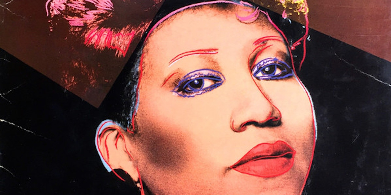 Cover der LP Aretha