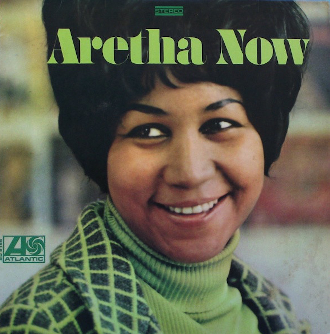 Cover der LP Aretha Now