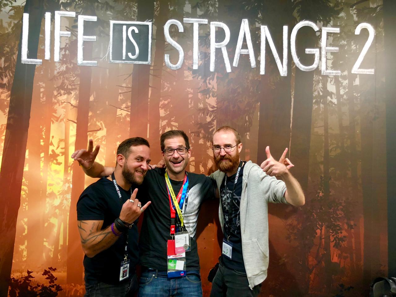 Life Is Strange Developer bei der gamescom 2018 in Köln