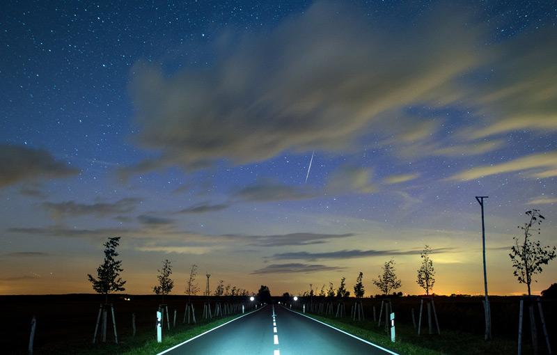 Schutzzonen für den Nachthimmel