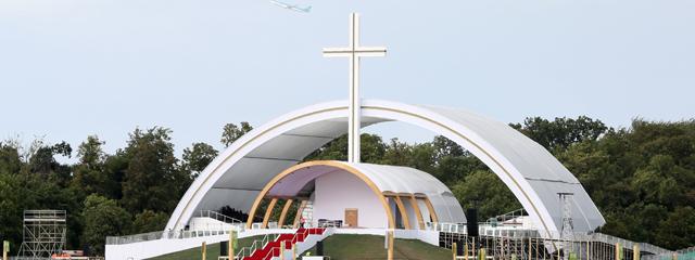 Papst Altar Irland
