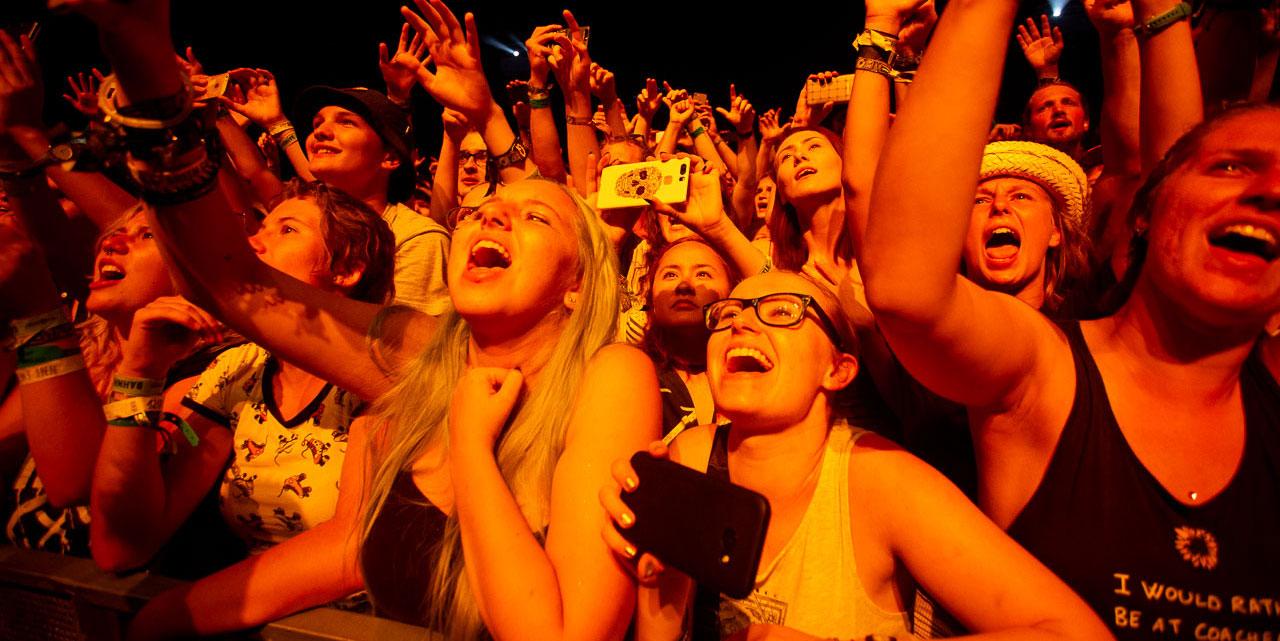 Publikum bei Imagine Dragons