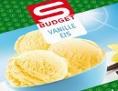 Die Verpackung des SPAR S-BUDGET Vanilleies 2500ml