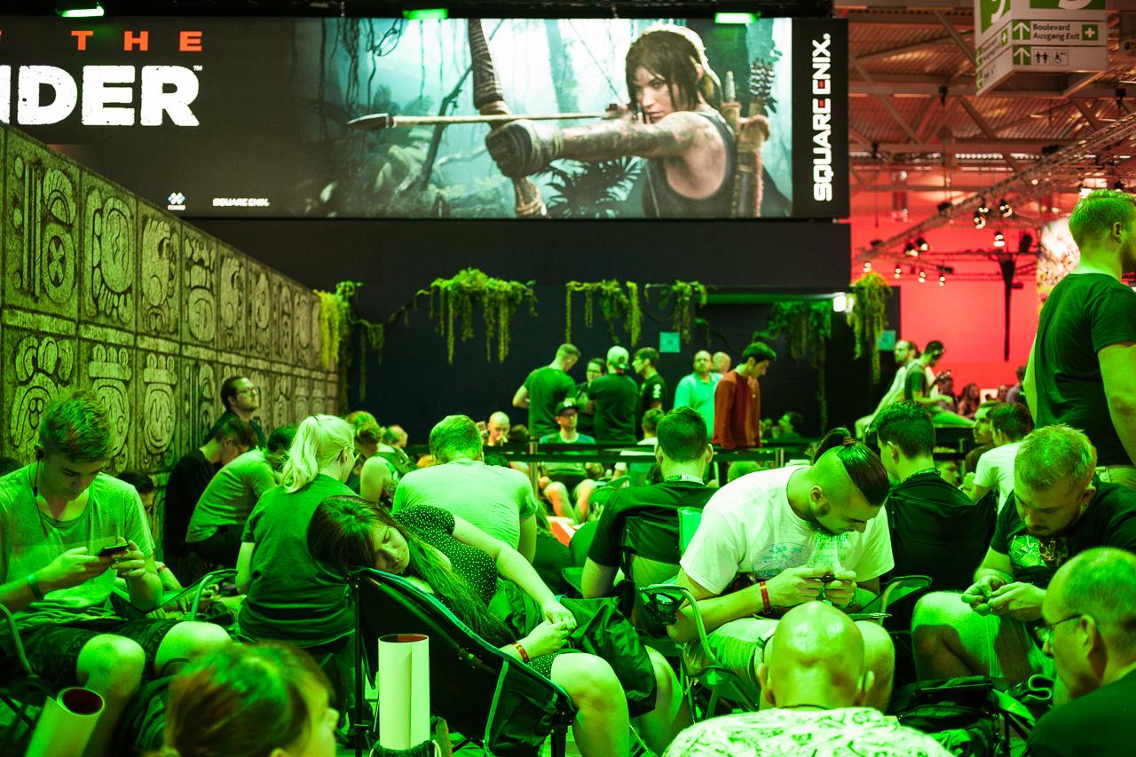 Spiele bei der gamescom 2018 in Köln