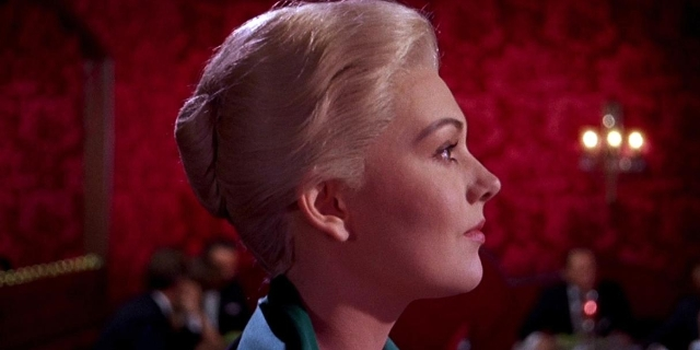 "Kim Novak in ""Vertigo"""