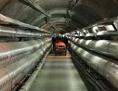 Der Tunnel am CERN, in dem AWAKE durchgeführt wird
