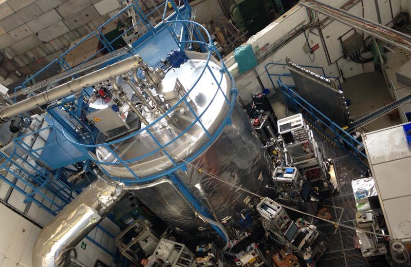 Die CLOUD-Kammer der CERN