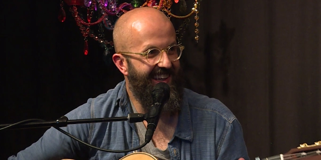 William Fitzsimmons bei einer FM4 Acoustic Session