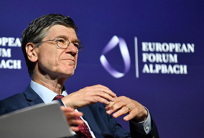 Jeffrey D.Sachs beim Forum Alpbach 2017