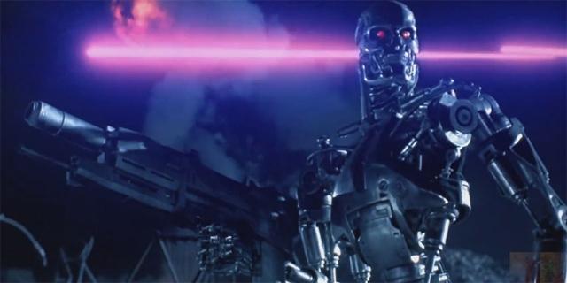 Roboterarmee aus Terminator 2