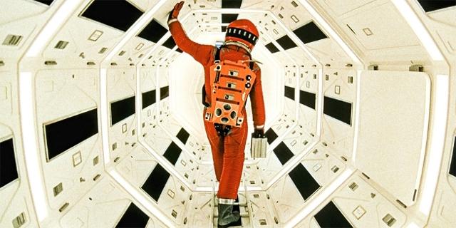 "Filmstill aus ""2001 - A Space Odyssey"""
