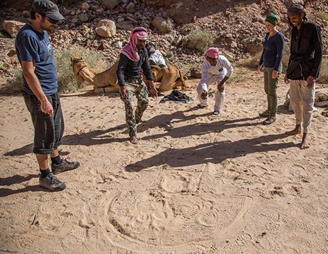 Tempelhupfen mit Beduinen in Jordanien