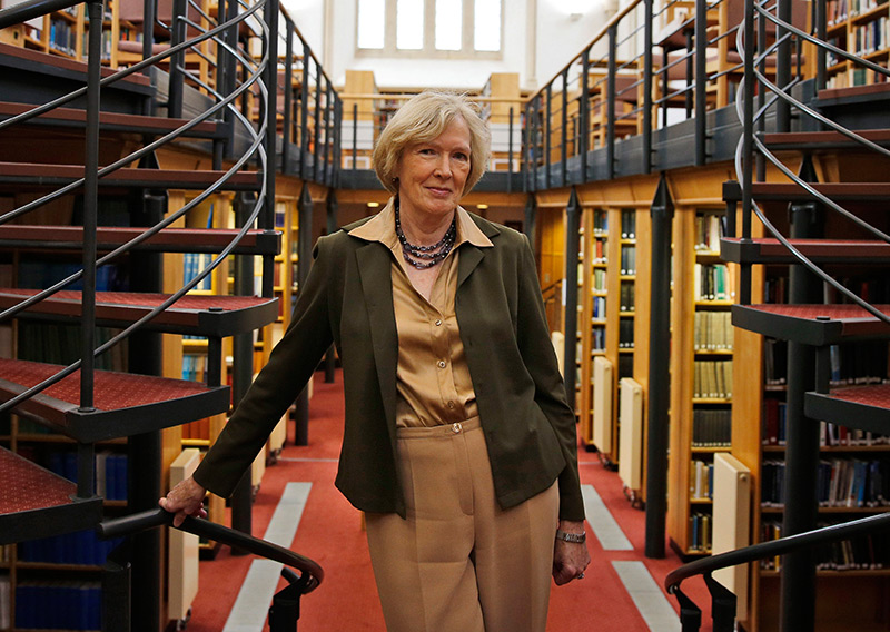 Margaret Macmillan 2014 in der Universität Oxford
