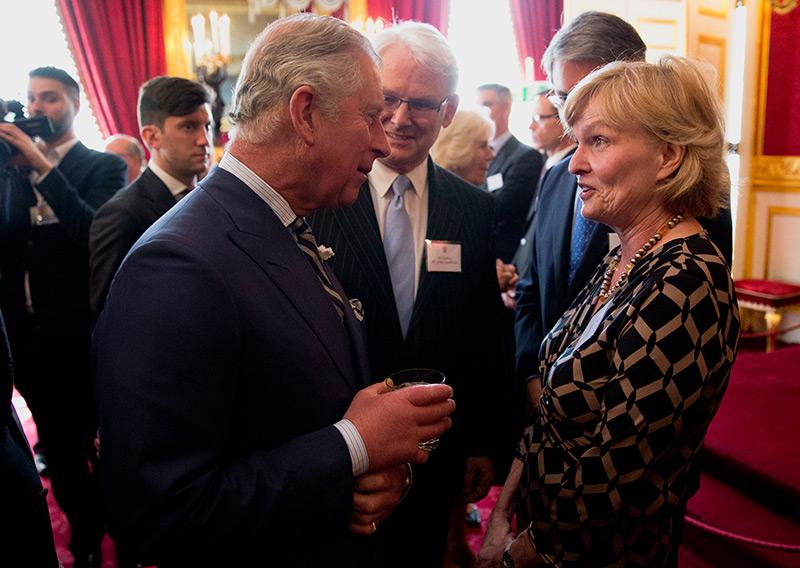 Margaret MacMillan 2014 im Gespräch mit Prinz Charles