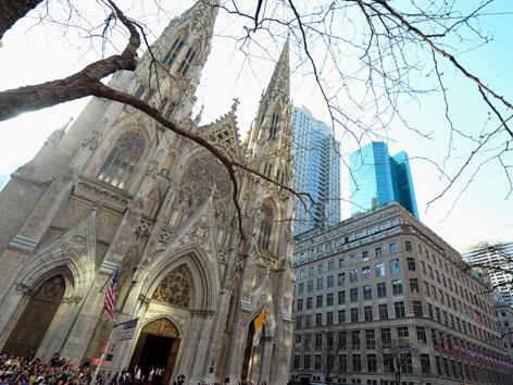 Die St. Patricks Kathedrale in New York