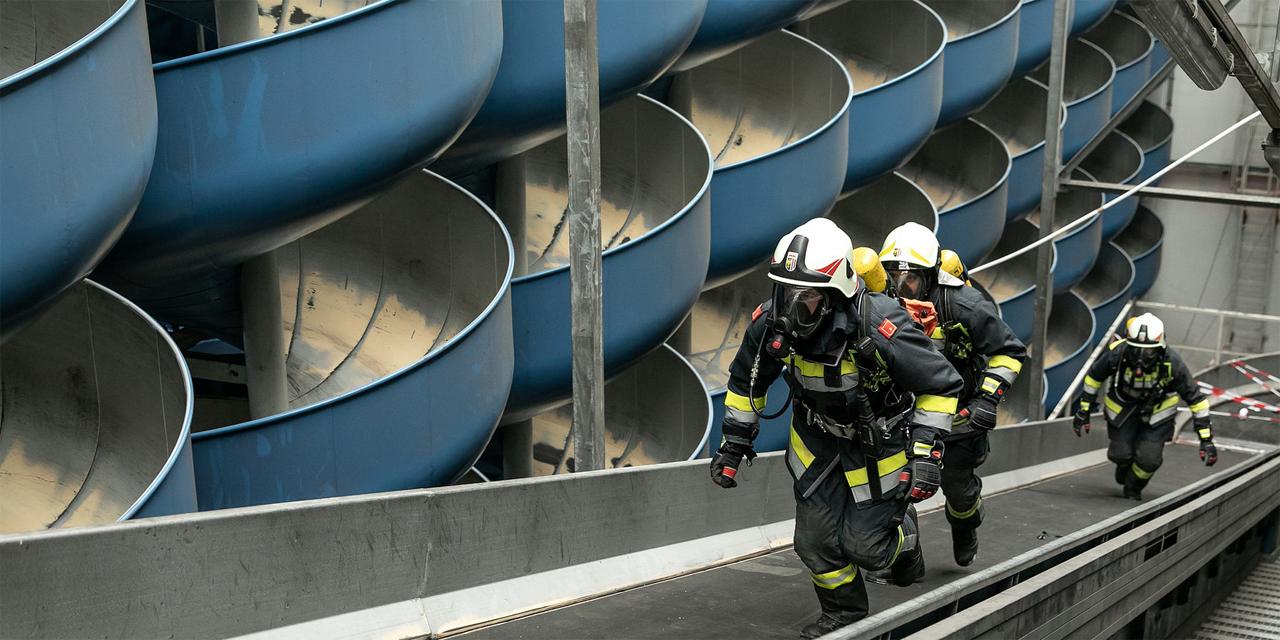 Feuerwehr-Übung