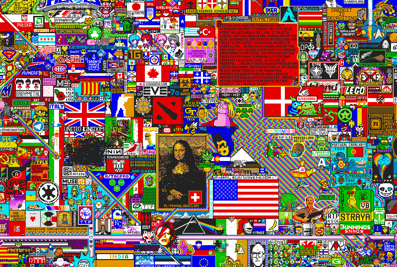 Das Kunstwerk der Reddit-User