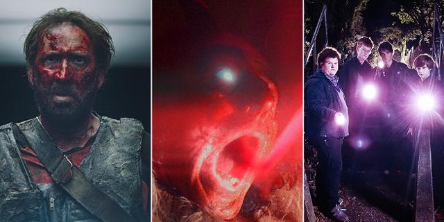 Nicolas Cage, Teufel und Jugendliche mit Taschenlampen