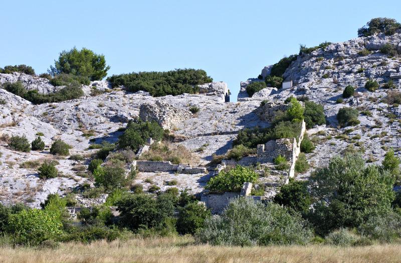 Die antiken Wassermühlen von Barbegal