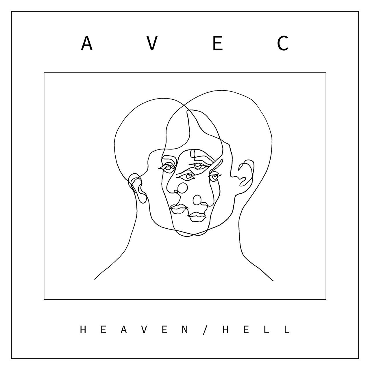 """Plattencover Avec """"heaven/Hell"""""""