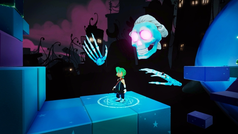 "Screenshot von ""Carly and the Reaperman"""