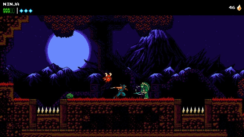 "Screenshot aus ""The Messenger"""
