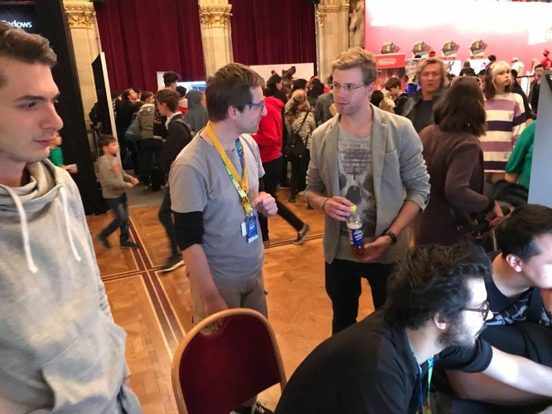 FM4 Indie Area bei der Game City 2017