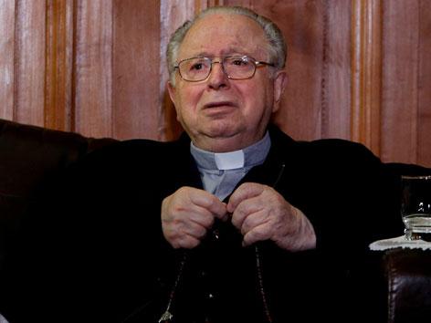 Fernando Karadima, des sexuellen Missbrauchs verurteilter chilenischer Priester