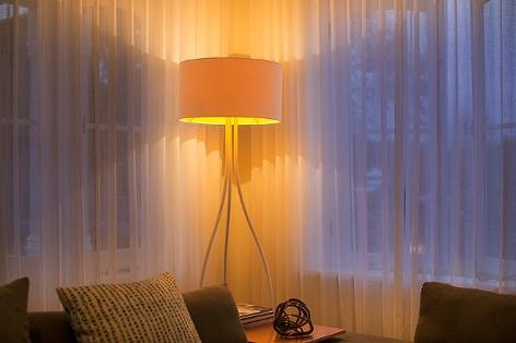 Lampe Im Wohnzimmer