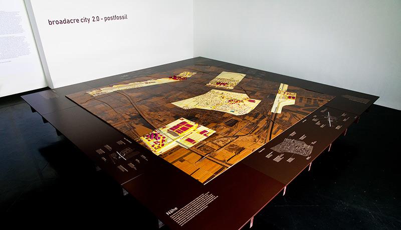 Ausstellung: Modell von Seiersberg im Jahr 2050