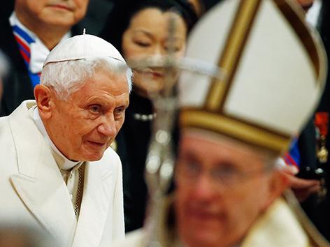 Benedikt XVI. verteidigt seinen Rücktritt
