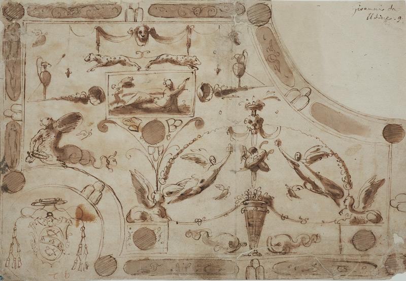 Zeichnung von Giovanni da Udine
