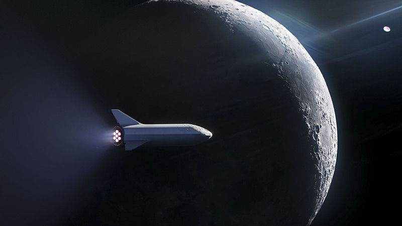 Elon Musk plant Rundreise um den Mond