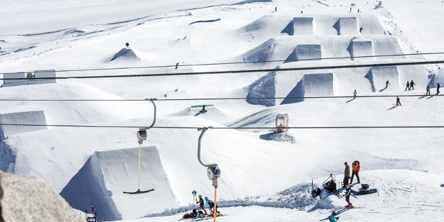 Hintertux-Opening Snowpark