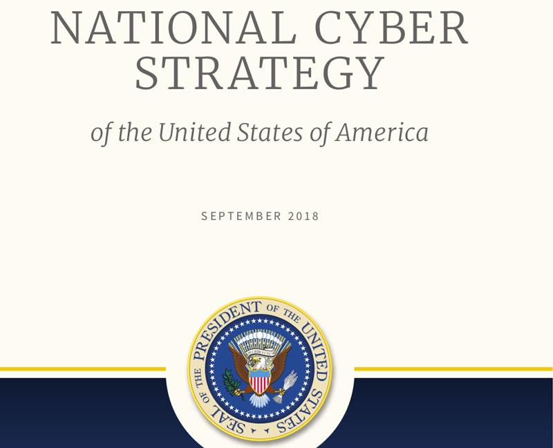 Screenshots aus der Cyber-Defense-Strategie der USA