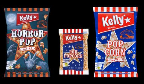 Die drei zurückgerufenen Popcorn-Produkte