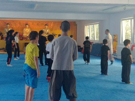 Kung Fu Training Shaolin Zentrum