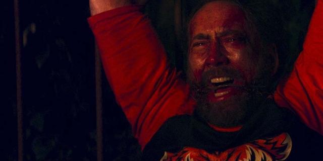 """Nicholas Cage blutüberströmt in """"Mandy"""""""