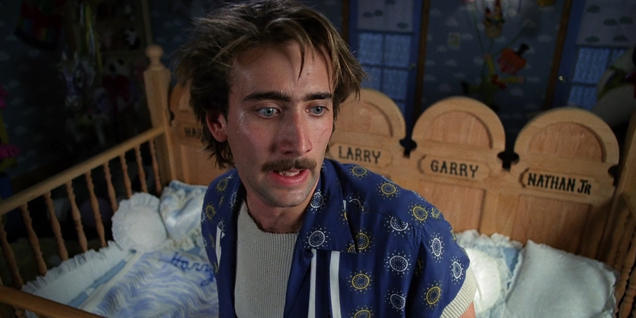 "Nicolas cage in ""raising arizona"""