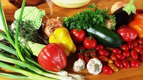 Gemüse für Letscho