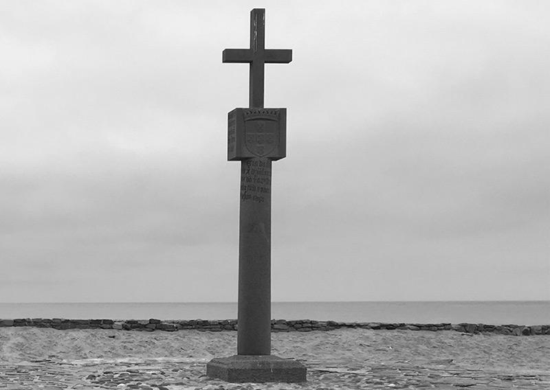 Die Säule von Cape Cross