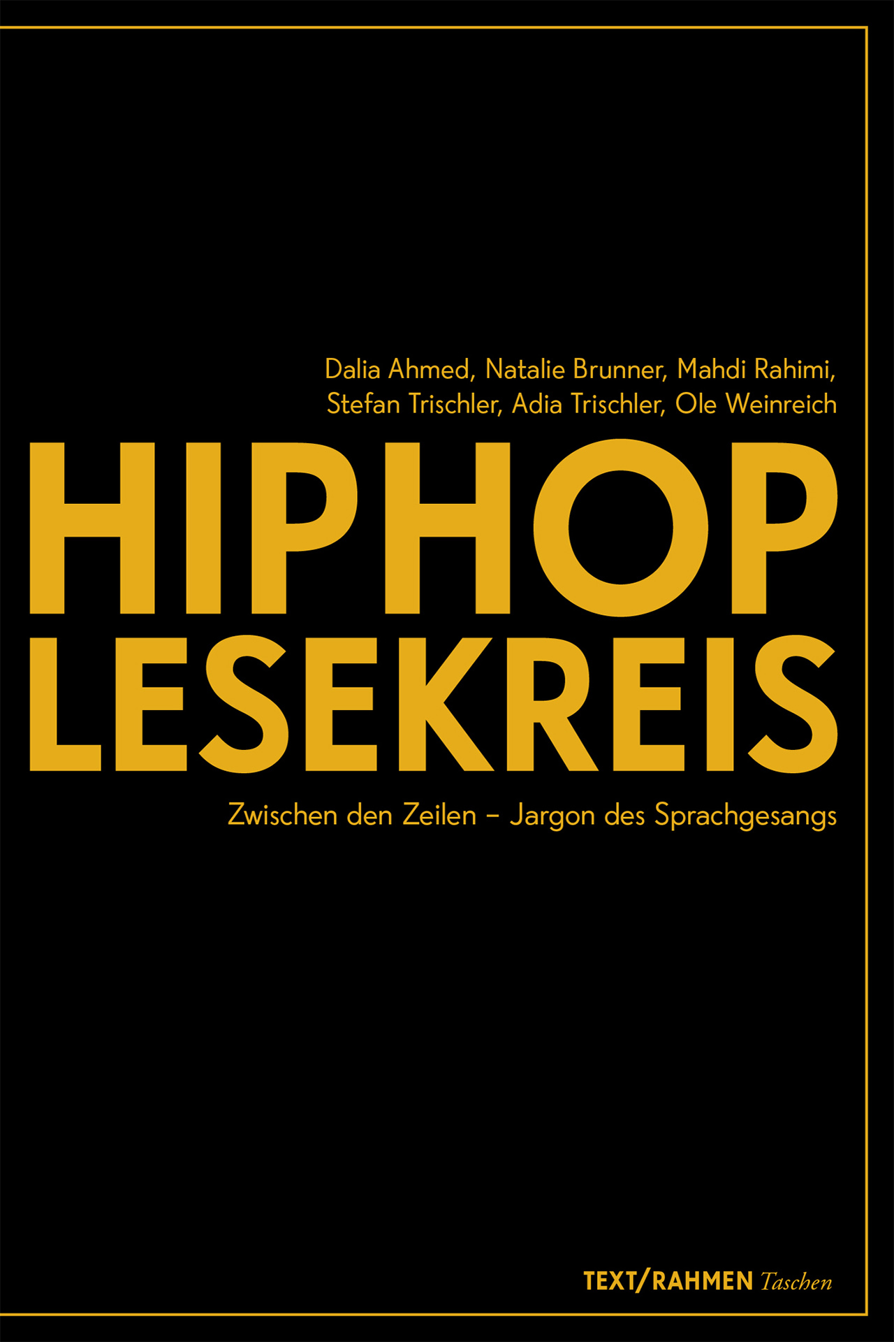 Buchcover: Hip Hop Lesekreis