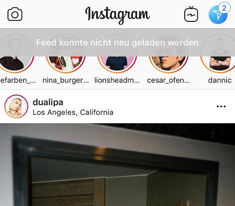 Instagram kurzzeitig weltweit ausgefallen oe3 - Pinnwand ausgefallen ...