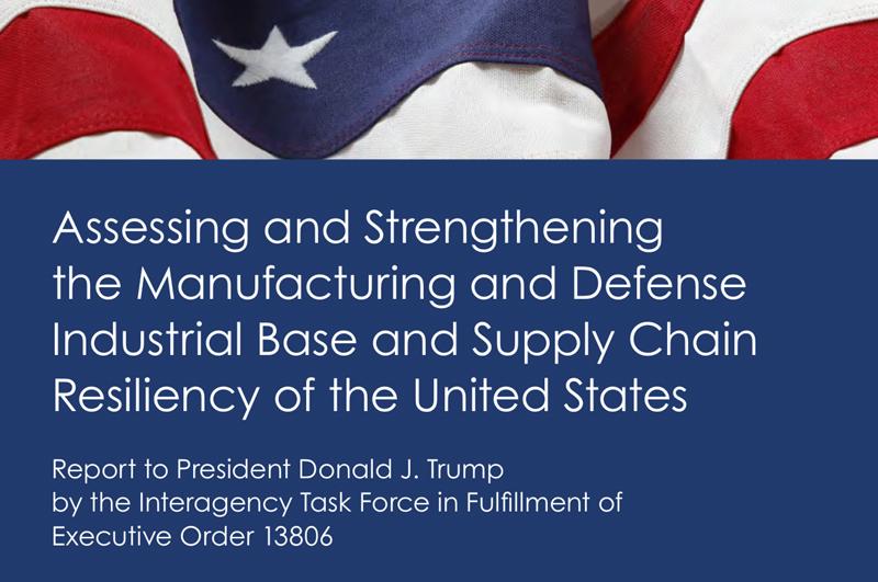 Cover eines Berichts des Pentagon