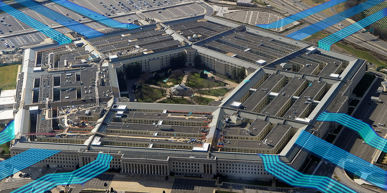Pentagon aus der Luft
