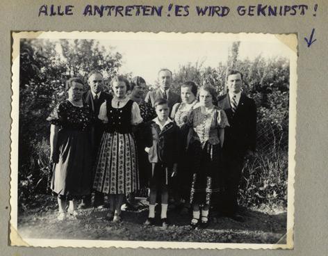 Österreich, um 1940 aufgenommene Fotografie aus einem ca. 1955 angelegten Album